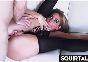Related sexy chick cum with an increment of purl Thirty