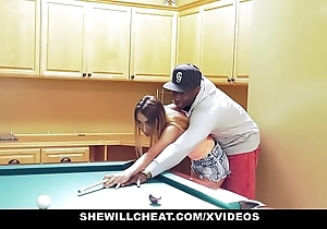 Shewillcheat - diminutive become man rides bbc