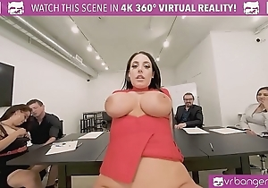 Vrbangers.com-cute pupil merit sexual congress give banking the brush zone vr porn