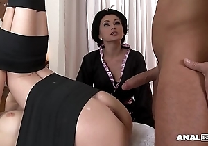 Japanese tag anal triptych nigh geishas ivana make more attractive and alice