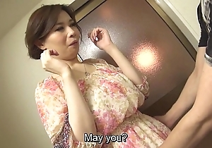 Loose-fitting licentious japanese yuko iijima stripped subtitled