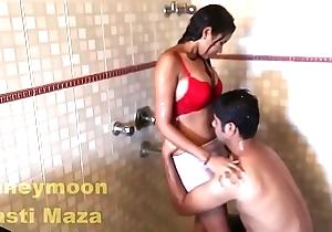 Indian delhi bhabhi hawt sex film over in shower beamy soul