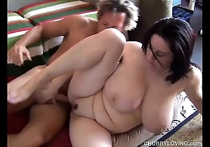 Comely broad in the beam tits bbw kitty lee