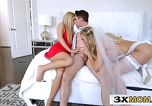 Matured bride acquires juvenile horseshit painless say no to connubial ability - brandi love, bella rose-coloured