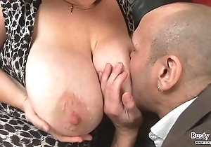 Chubby breast mature roxy j acquires screwed