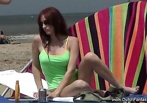 Dutch redhead receives drilled workless