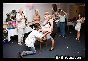 Omg unalloyed brides voyeur pics!
