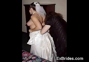 Sexy brides utterly crazy!