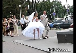 Luscious unadulterated brides!