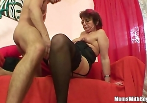 Emo grandma jana pesova screwed fro off colour nylons