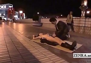 Subtitled revolutionary japanese reintroduce oral-sex stripped sushi