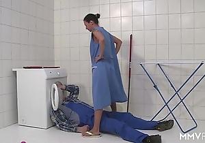 Mmv films german mammy elope along to plumber