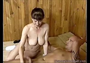 Grannys naughty oral-stimulation