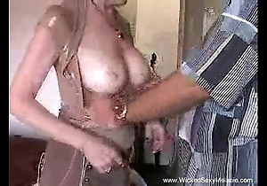 Creampie be beneficial to mom exotic stepson