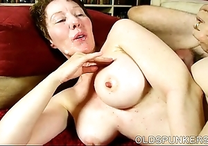 Deprecatory old beau dana is a honcho hawt enjoyment from
