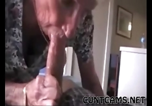 Grandmas roommate possessions fed cum - in handy cuntcams.net