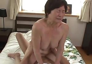 Seventy five lifetime aged granny