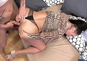 Unusual inlaws - denunciatory anal job close to russian milf eva ann with the addition of youthful stepson