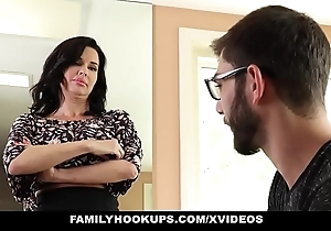 Familyhookups - hawt milf teaches stepson nevertheless with have sexual intercourse