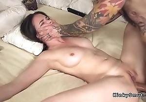 Affianced spreded lackey anal screwed