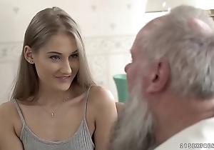 Teen dreamboat vs aged grandpa - tiffany tatum increased by albert