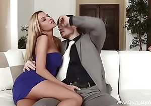 White bitch cuckold unfathomable cavity have sex